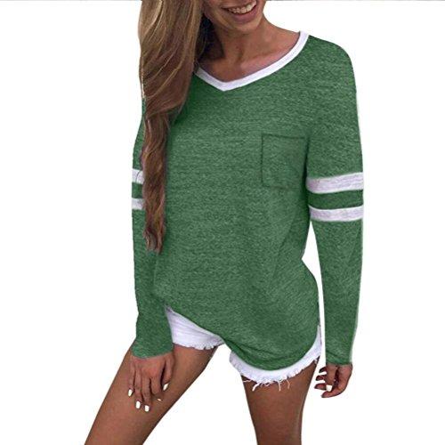 [S-XL] レディース Tシャツ Vネック ポケット 長袖 トップス おしゃれ ゆったり カジュアル 人気 高品質 快適 薄手 ホット製品 通勤 通学
