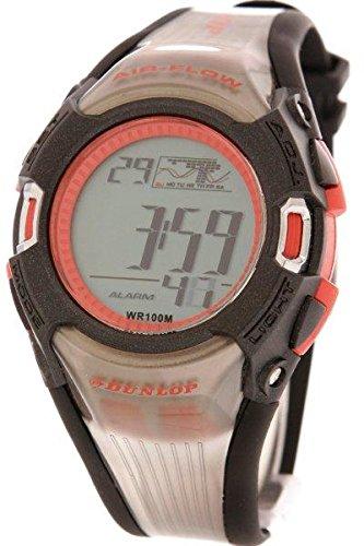 Dunlop Reloj Digital para Hombre de Automático con Correa en Caucho DUN-46-G07: Amazon.es: Relojes