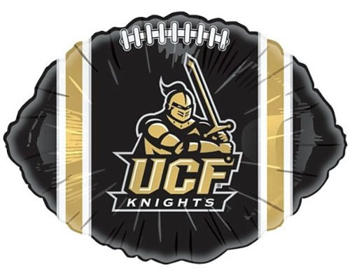 Central Florida UCF Knights Black 18-inch Football Microfoil Balloon - Knights Black Football