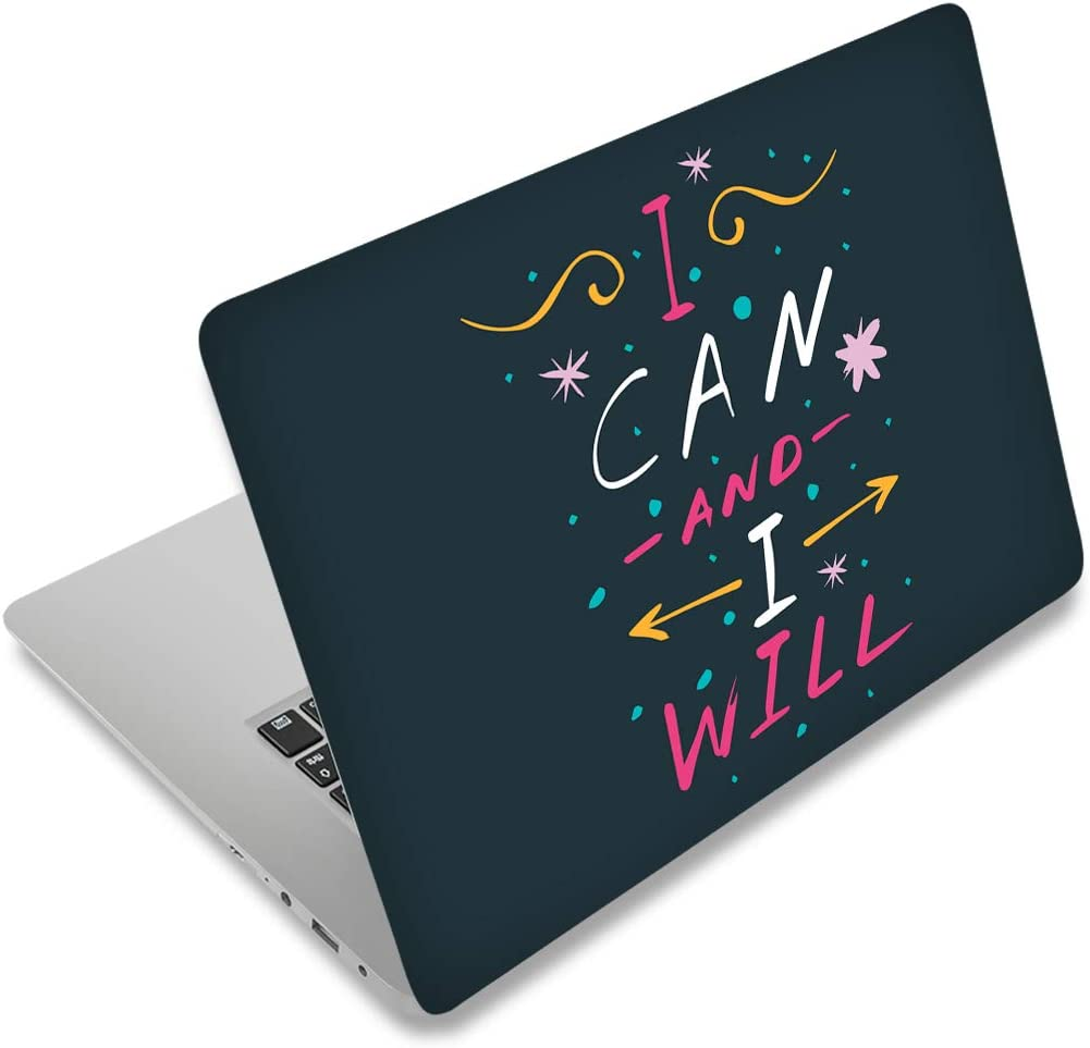12.1 13 13.3 14 15.4 15.6 Inches Laptop Skin Sticker Decal Universal Netbook Skin Sticker Reusable Netbook Art Decal Protector Cover Decal by AORTDES (Inspirational Words)