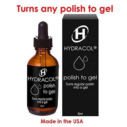 Hydracol Gel Nail Polish Turns Regular Colors Into A Hard
