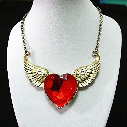 Wings Making Angel For Costume (5 Pieces Necklace Pendent Jewelry Fashion Decoration Costume Retro Jewellery Collier Long Chain 67212 Angel Wings)