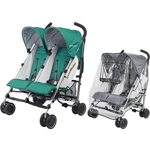 UPPAbaby G-Link Stroller With Rain Shield, Ella Jade by UPPAbaby