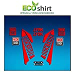 51JsainIuqL. SS150 Ecoshirt G2-4NFQ-B25N Adesivi Fork Rockshox Lyrik 2016 Am40 Stickers Aufkleber Decals Adesivi Bike BTT MTB Cycle, Rosso…