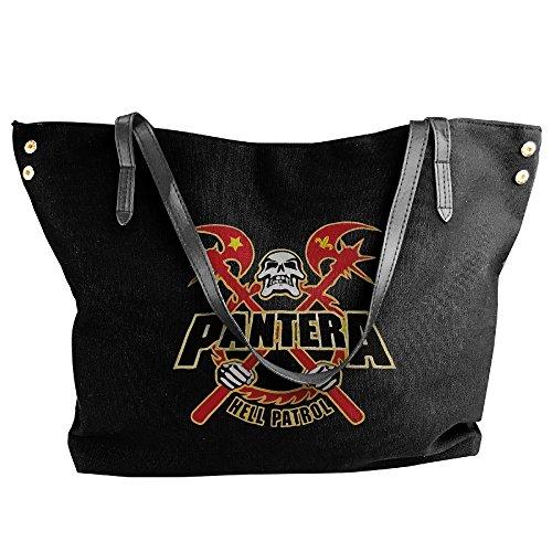 pantera-logo-skull-axe-canvas-shoulder-bag-large-tote-bags-women-shopping-handbags