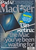Mac User Magazine Macpac November 23 & December 7 2013 (2 Issues) offers