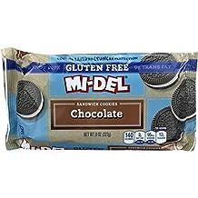 Mi-Del Gluten Free Cookies, Chocolate Sandwich, 8 Ounce