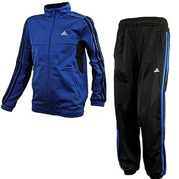 19ad59039706 adidas YB TS Tiberio Knit CH Z32824 Unisex-child Kids tracksuit Blue   Amazon.co.uk  Sports   Outdoors