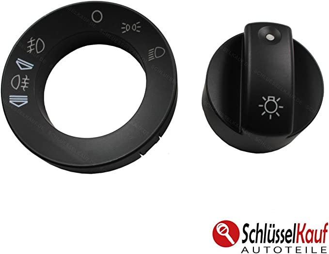 Lichtschalter Abdeckung Schalter Licht Drehknopf für Audi A4 B6 B7 8E0941531A