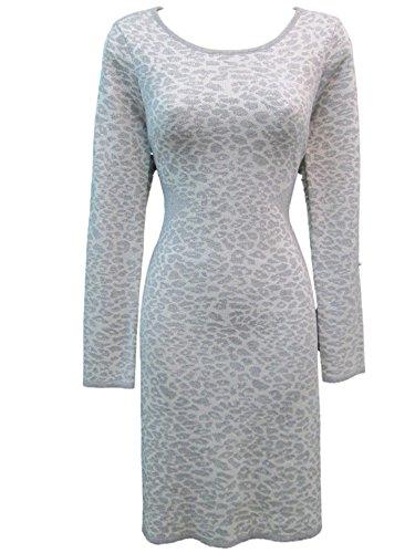 cheetah print sweater dress - 4