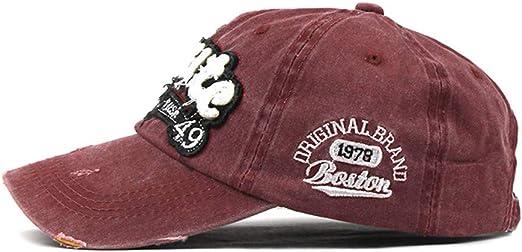 LOPILY Gorras Beisbol Deportes Unisex Adjustable al Aire Libre Cap ...