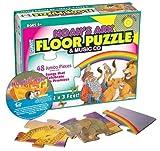 Noah's Ark Floor Puzzle & Music Cd