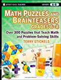 Math Puzzles and Brainteasers, Terry Stickels, 0470227206
