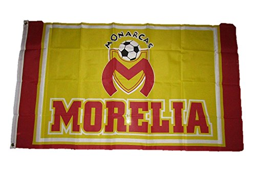 fan products of 3x5 Morelia Monarcas Mexican Soccer Futball Sport Flag 3'x5' Brass Grommets