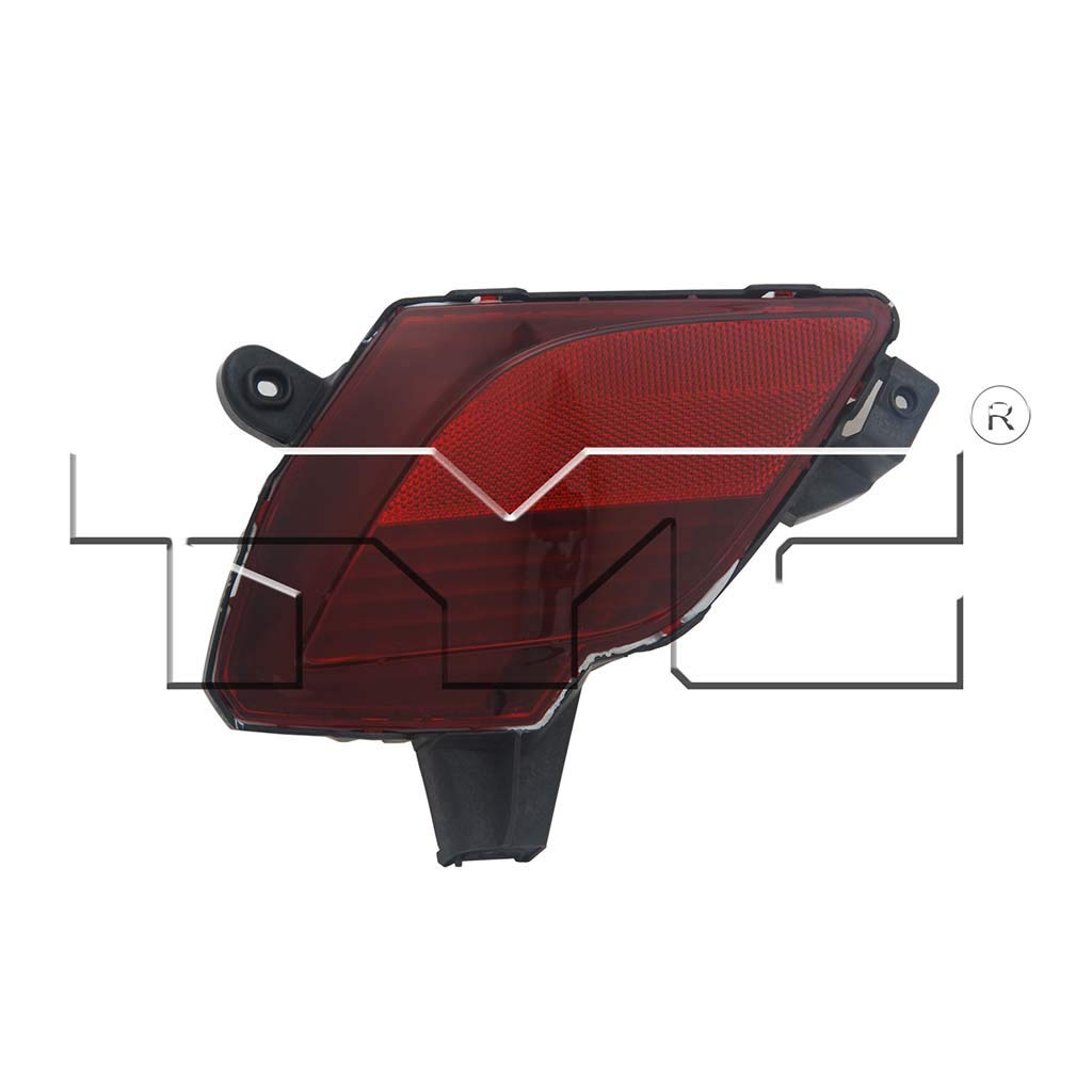 Fits 2013-2016 Mazda CX-5 Driver Side Rear Marker/Reflector Light CAPA Certified With Bulbs Included MA2830101 - Replaces KD31-51-5M0 ;