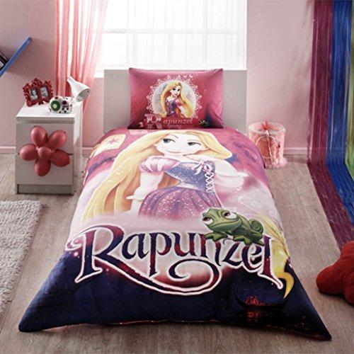 Disney Rapunzel Ranforce Duvet Quilt Cover Set Licenced Product