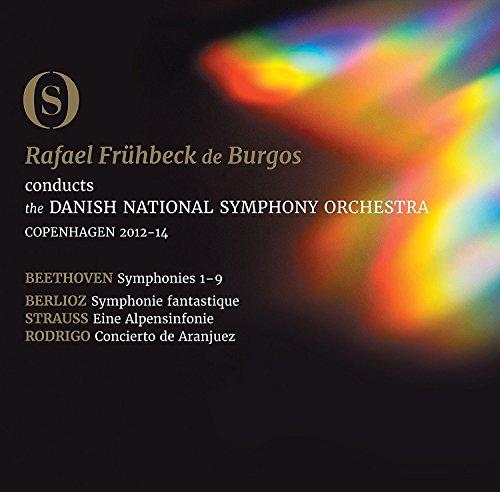 Ludwig van Beethoven: The Symphonies [Danish National Symphony Orchestra; Rafael Frühbeckde Burgos] [Dacapo: 2110433-35BD] [Blu-ray]