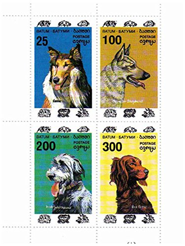 Collie Stamps - 2