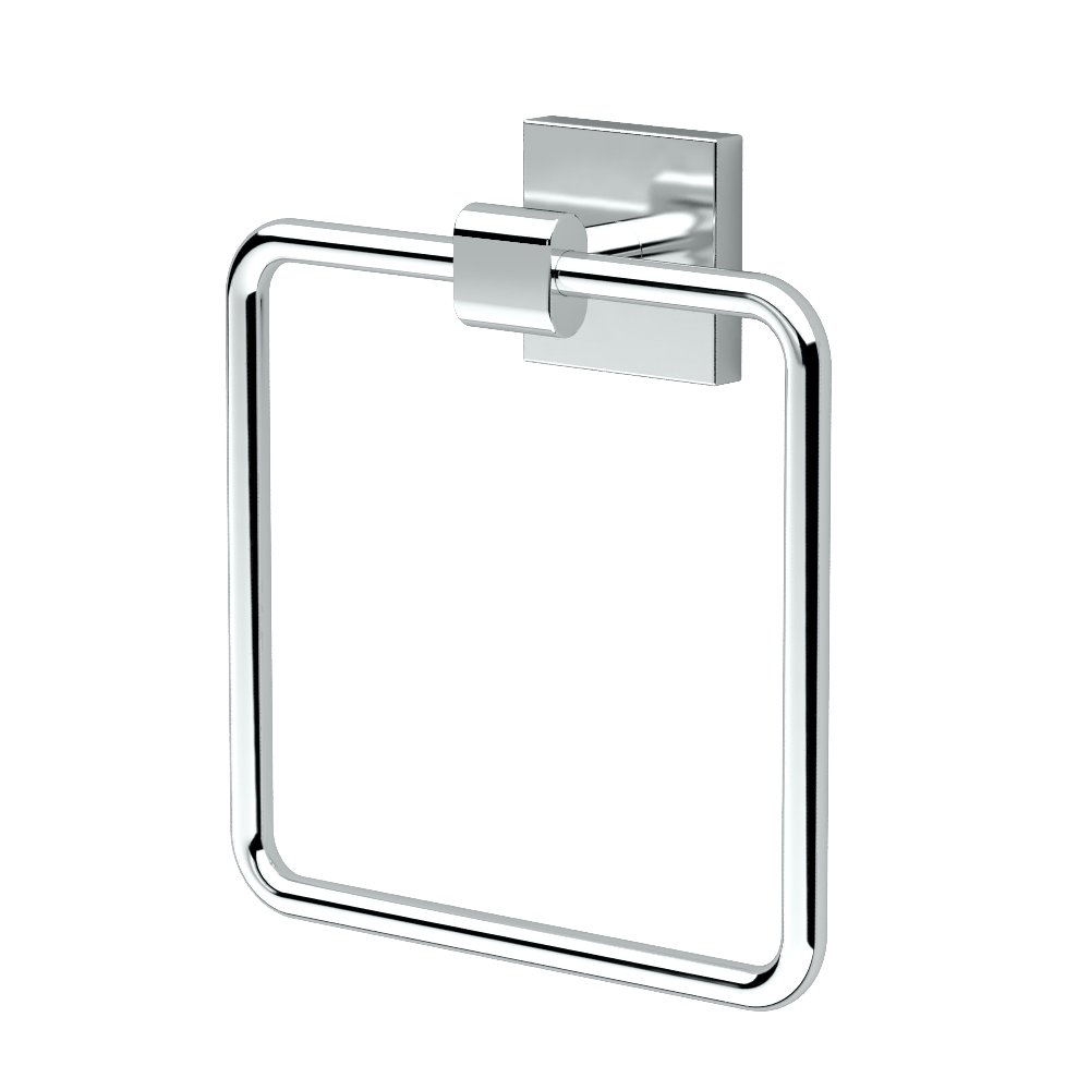 Gatco 4052 Elevate Towel Ring, Chrome