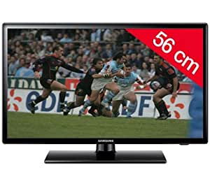 "Samsung - Televisor LCD de 22"" (1920 x 1080, Full HD, DVB-C, DVB-T, SCART, USB, HDMI), negro"