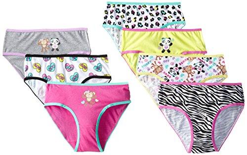 Sweet Princess Little Girls' 7 Pack Panties, Isabelle, 5
