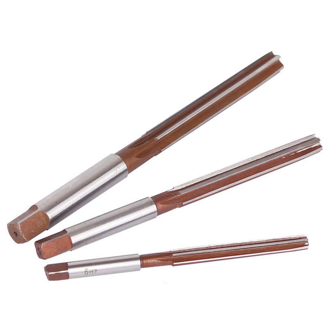 2Mm-16Mm Straight Shank D4 HSS Reamer Chucking Engineering Milling Cutter Tool 3Mm/4Mm/5Mm/6Mm/8Mm/10Mm/12Mm/14M 6 Flutes HSS 11mm by LUCKYWE