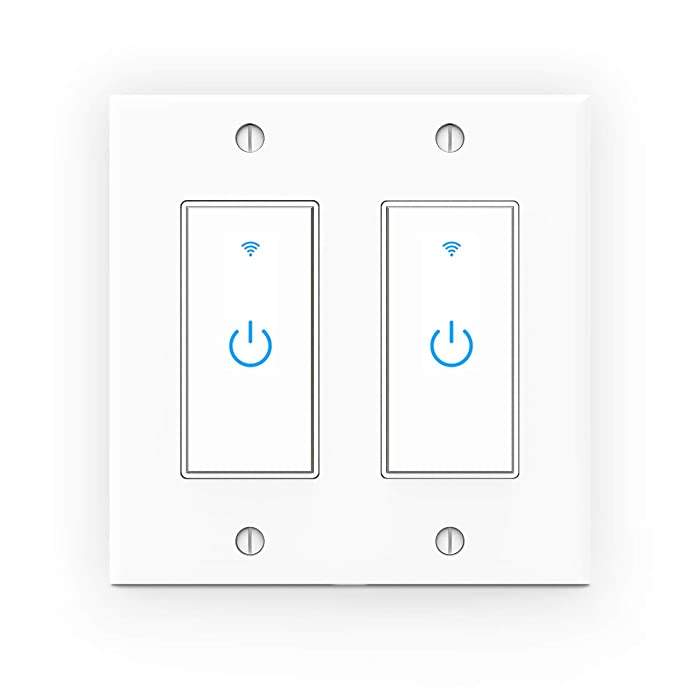 Top 10 Double Gang Smart Light Switch Google Home