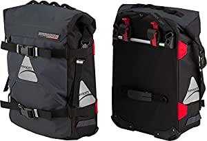 Axiom Tempest Hydracore P40 Plus Panniers: Gray by Axiom