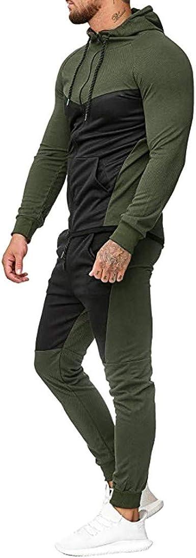 Men/'s Tracksuit Sets Sports Two-piece Hoodies Sweatshirts Trousers Jogging Suits