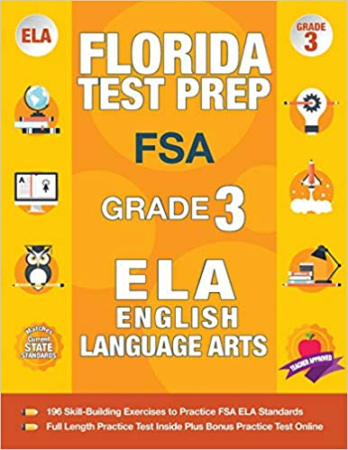 Florida Test Prep FSA Grade 3 FSA Reading Grade 3 FSA
