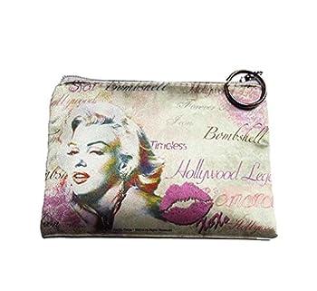 Marilyn Monroe Small Makeup Bag (Pink)