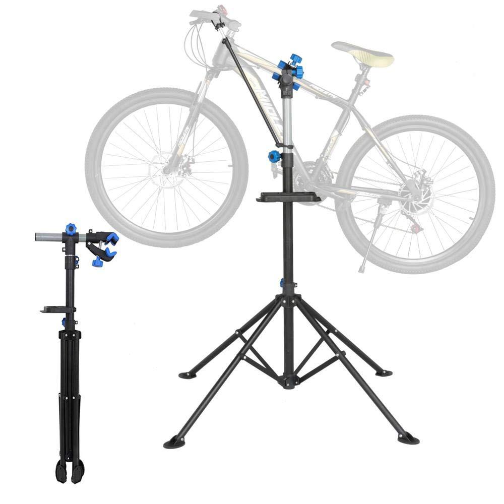 Topeakmart Portable Mechanic Bicycle Repair Stand Bike Rack Home Used Adjustable by Topeakmart