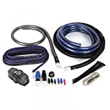 NVX True Spec 1/0 Gauge 100% Copper Single Amp Wiring Kit with 12 Gauge Speaker Wire [XAPK0]