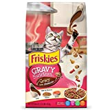 Purina Friskies Dry Cat Food; Gravy Swirlers - 3.15 lb. Bag