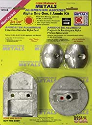(Price/Each)PerfMetals ALPHA1 GEN2 ANODE DRIVE KIT 10059A (Image for Reference)