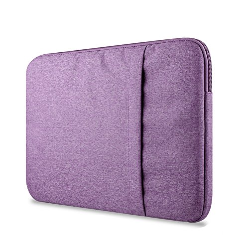 Funda Blanda Bolso Sleeve Para Ordenador Portátil / Macbook / Ultrabook Netbook Purple