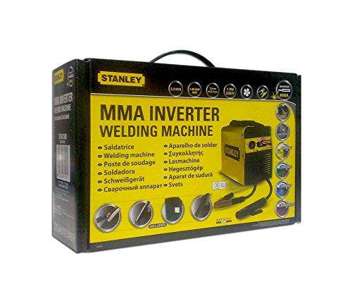 Stanley STAR2500 - Equipo de soldadura (2,3 W, 230 V), color amarillo y negro: Amazon.es: Industria, empresas y ciencia