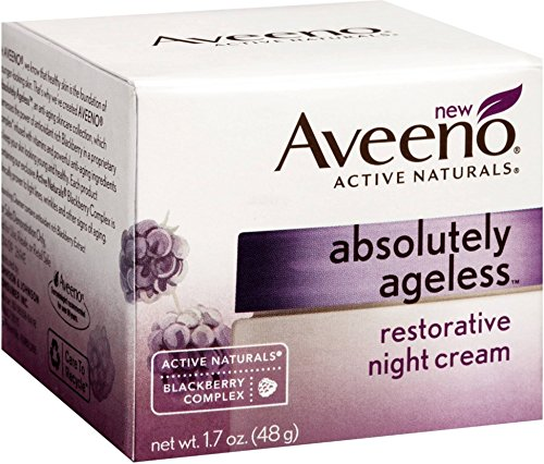 Ageless Restorative - Aveeno Absolutely Ageless Restorative Night Cream, 1.7 Ounce - 12 per case.