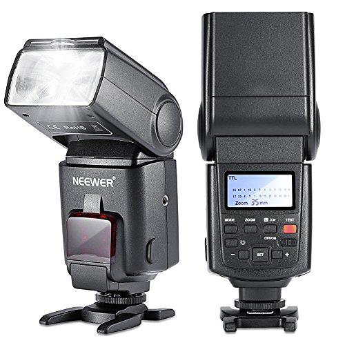NEEWERNW680/TT680 E TTL スピードライト ストロボ・フラッシュ ハイスピードシンクロ Canon 5D Mark II/7D Kiss X6i X5 X50 X4 X3 X2 Digital X 60D/50D/40D/30DなどのキャノンDSLRカメラに対応 の商品画像