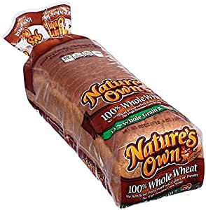 Loaf of Nature's Own Whole Wheat Bread
