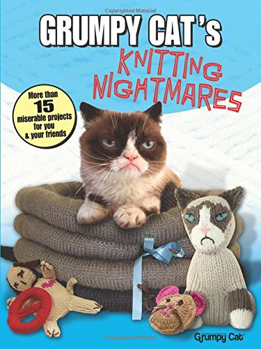 Grumpy Cat's Knitting Nightmares