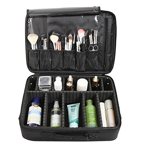 Professional Cosmetic Carrying Adjustable Compartments