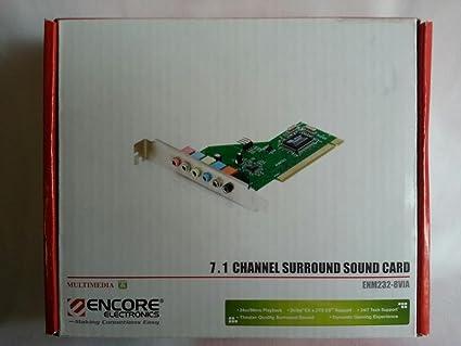 Amazon Encore Sound Card Enm232 8Via Via Chipset 71 8 Channel