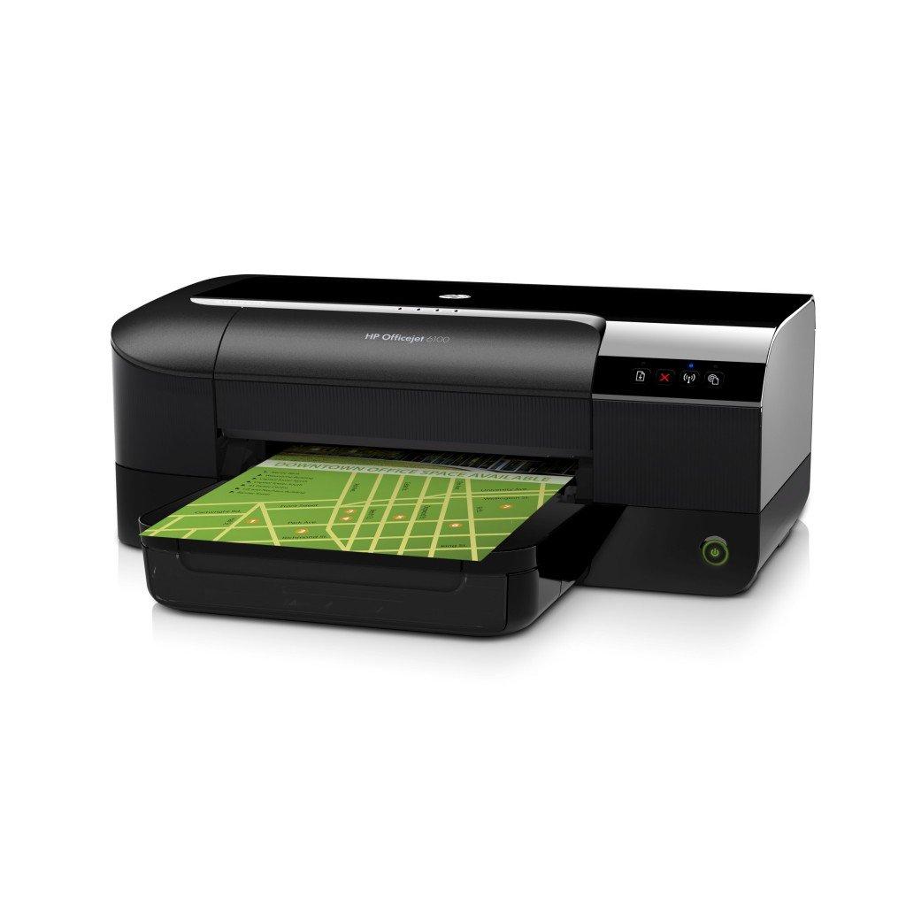 HP Officejet 6100 - Impresora de tinta - B/N 16 PPM, color 9 PPM