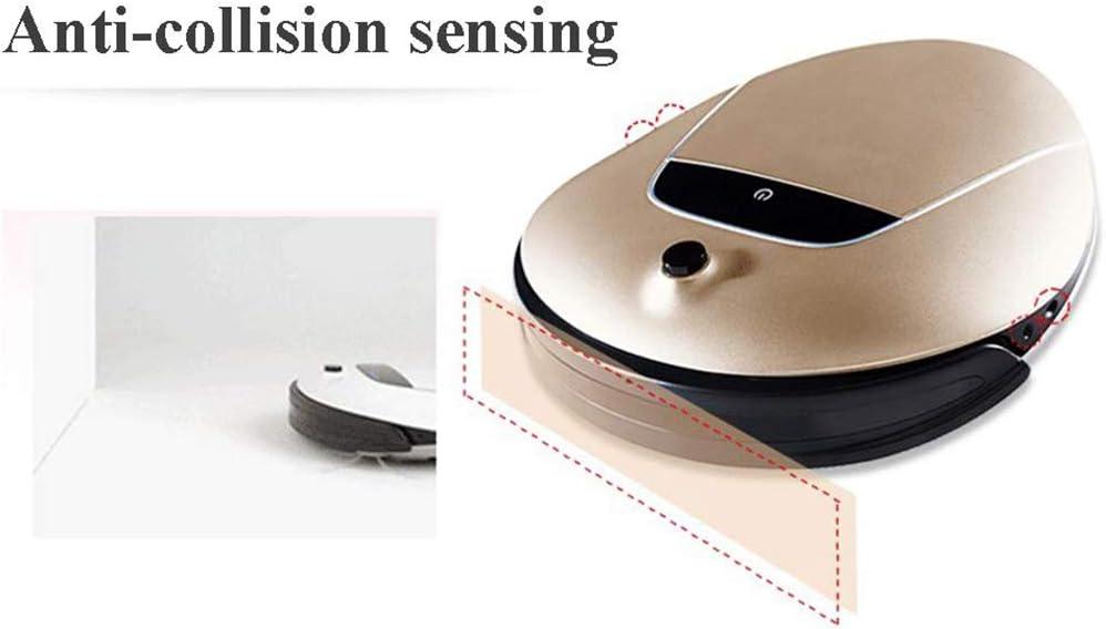 WJHH Robot de Balayage en Forme de Triangle Nettoyeur /à Distance visualisation Transparente Machine /à Laver Nettoyeur /à Main