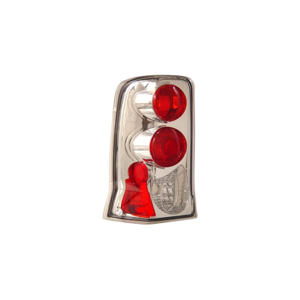 Anzo USA 211011 Cadillac Escalade Chrome Tail Light Assembly   (Sold in Pairs)