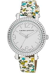 Laura Ashley Womens LA31005BL Analog Display Japanese Quartz Blue Watch
