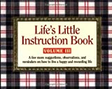 Life's Little Instruction Book, H. Jackson Brown, 1558538372