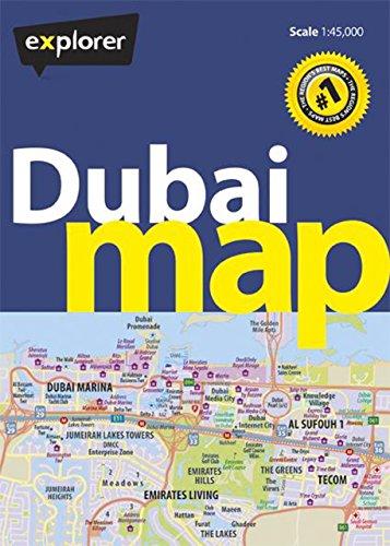 Dubai Map, 4th (City Map)