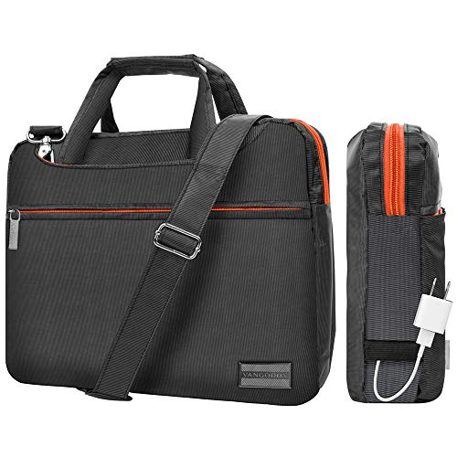(ECCRIS 13 to 14 Inch Laptop Briefcase Computer Bag Fit Dell Latitude 5490, 7480, 5290 2 in 1, 3390 2 in 1, 5285 2 in 1, Latitude 13, 14, Inspiron 13, 14, MSI PS42 8RB Prestige, Acer Chromebook 13, 14 )